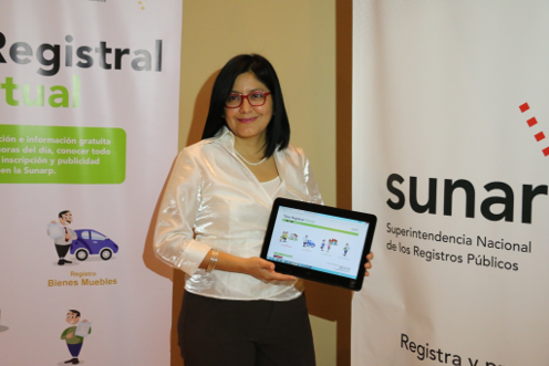 En Perú se presentó un Tutor Registral Virtual.